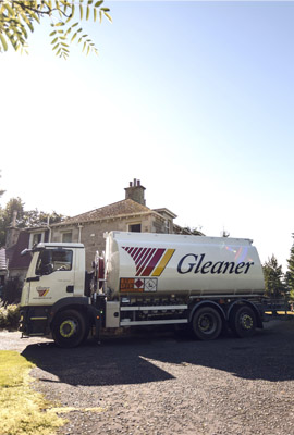 Gleaner providing a quick reliable Heating Oil delivery