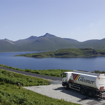 Contact Gleaner Ltd isle of mull depot to order Kerosene heating oil, Gas Oil or LPG
